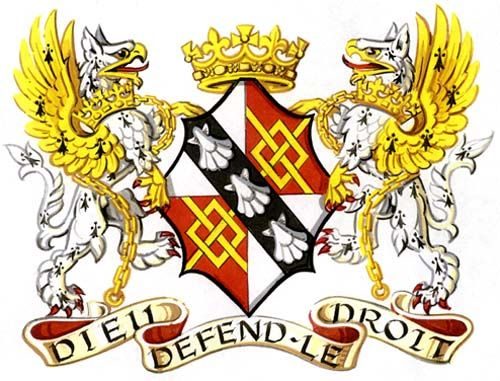 College of Arms - Coat of arms of Diana, Princess of Wales