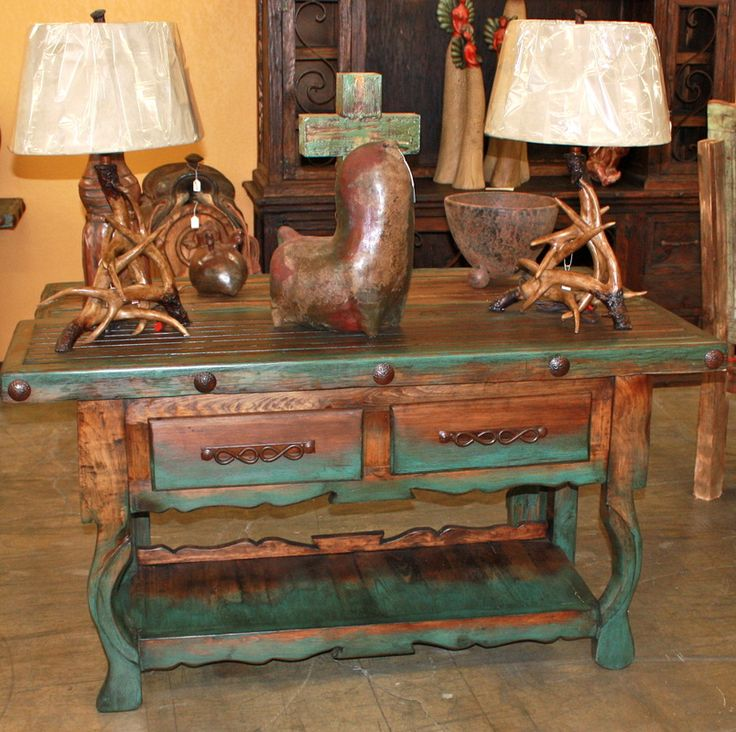Western Decor   Rustic Tables   Southwestern Furniture   Agave Ranch. Best 25  Southwestern buffets and sideboards ideas on Pinterest