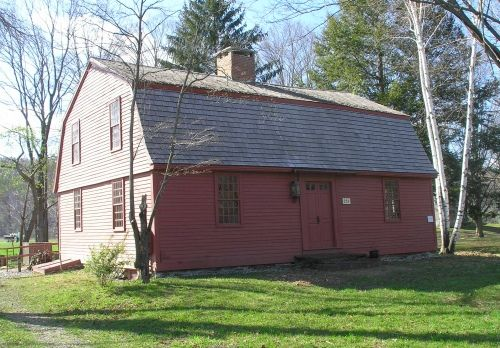 Built c. 1757, the Thomas Smith House stands at 251 North West Street in the Feeding Hills section of Agawam.  Thomas Smith was born in Suff...