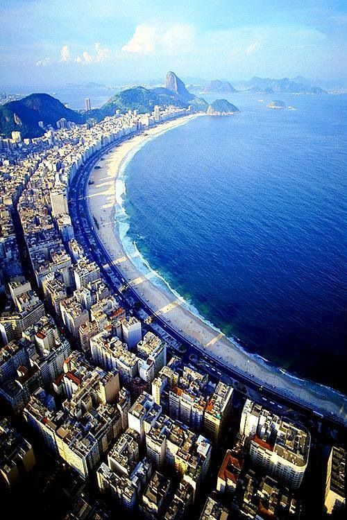 Copacabana Beach, Rio de Janeiro, Brazil*