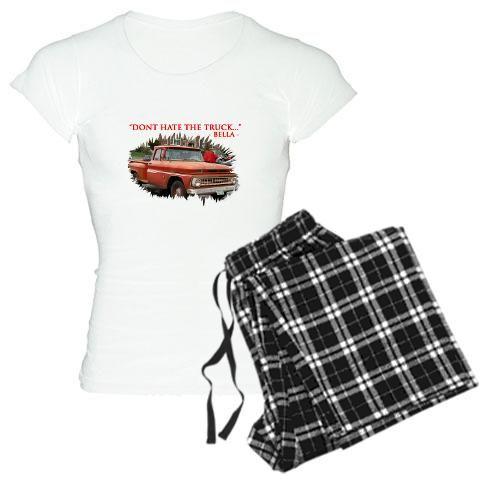 "Women's Light Pajamas - ""BELLAS TRUCK"" T : http://www.cafepress.com.au/cp/customize/product2.aspx?number=676933700"