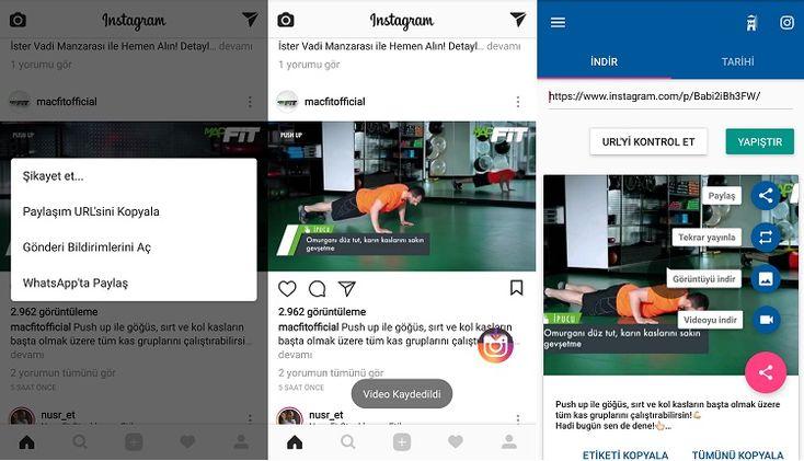 Instagram'dan Video İndirmek İçin 5 Farklı Yöntem