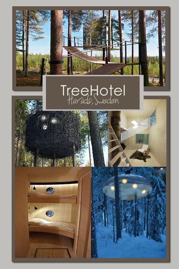 TreeHotel, northern Sweden