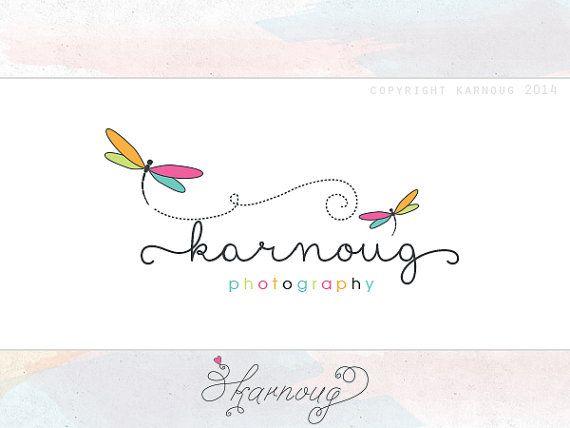 Custom, Premade, Photography, Boutique Logo Design, Dragonfly Logo
