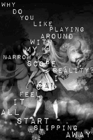 Disturbed stupify Alice in Wonderland