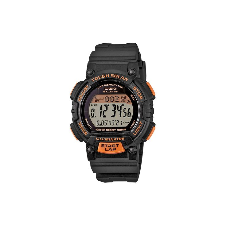 Casio Women's Tough Solar Digital Watch, Black