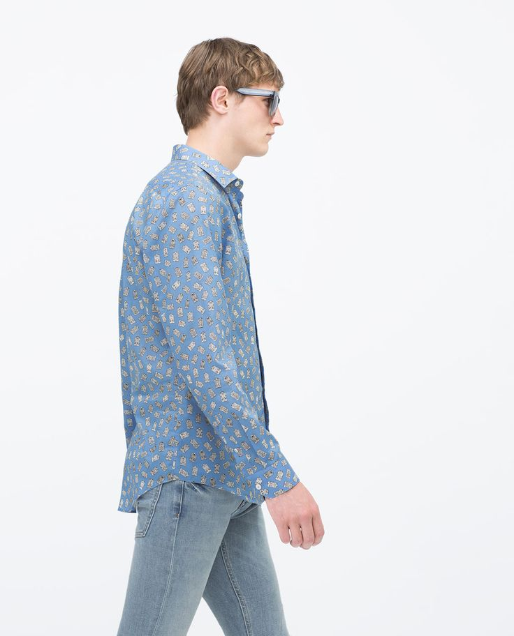 Lovely shirt with funny pattern
