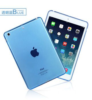 New Arrival Soft TPU Silicone Case Cover for iPad mini 1 2 3 Retina Skin