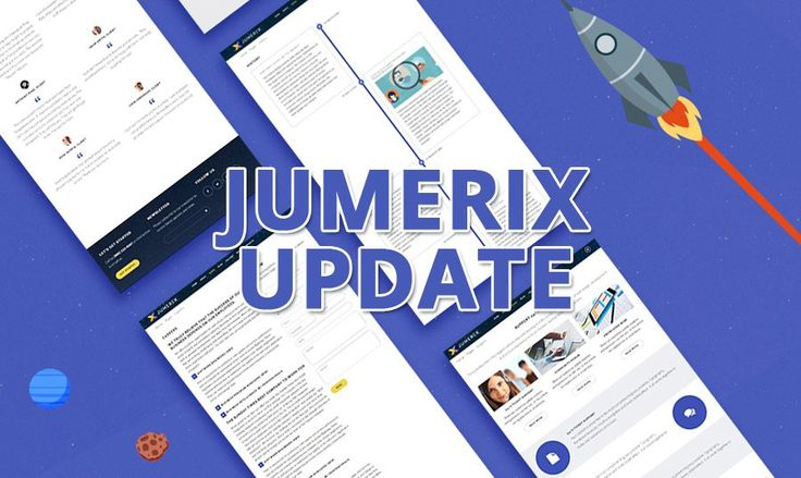 Jumerix Multipurpose Joomla Template Update 1.1
