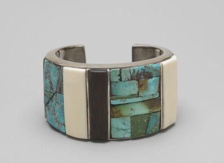 Charles Loloma, Untitled (Bracelet) 1968; Photo: John Bigelow Taylor, 2008
