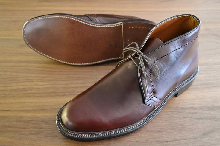 MODEL:N5702  MATERIAL:CHROMEXCEL  COLOR:DARK BROWN  LAST:BARRIE  OUTSOLE:DOUBLE OILED LEATHER  PRICE:¥103,680