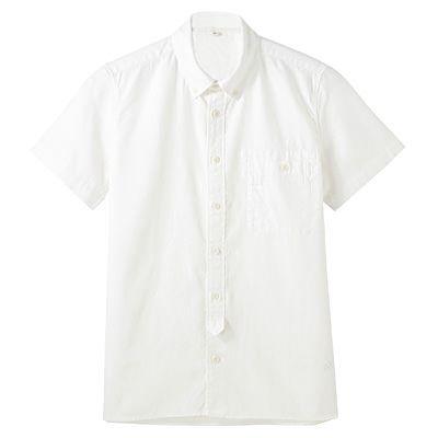 無印良品 / リネンコットン半袖シャツ