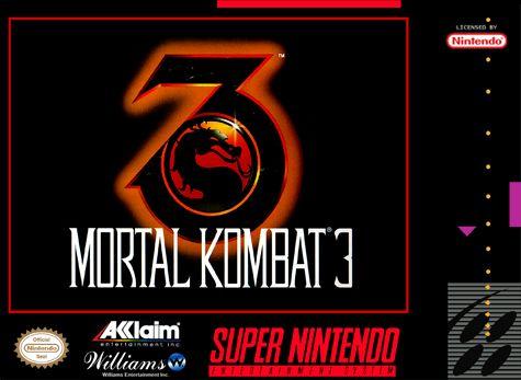 Mortal Kombat 3 Nintendo Super NES cover artwork