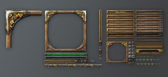Antonw.com   Portfolio   Fantasy Game GUI