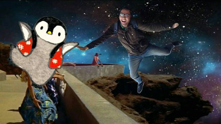 Rindu saat masih bisa terbang bebas di angkasa bersama penguin - penguin. Tanpa ragu adanya badai. Tanpa takut adanya pemangsa. Tanpa lari dari segalanya. Tak seperti sekarang. Semoga cepat kembali. . . #imagination #penguin #fly #outer #space #adventure