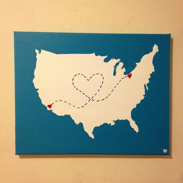 Customized StateCity Love Across the United States