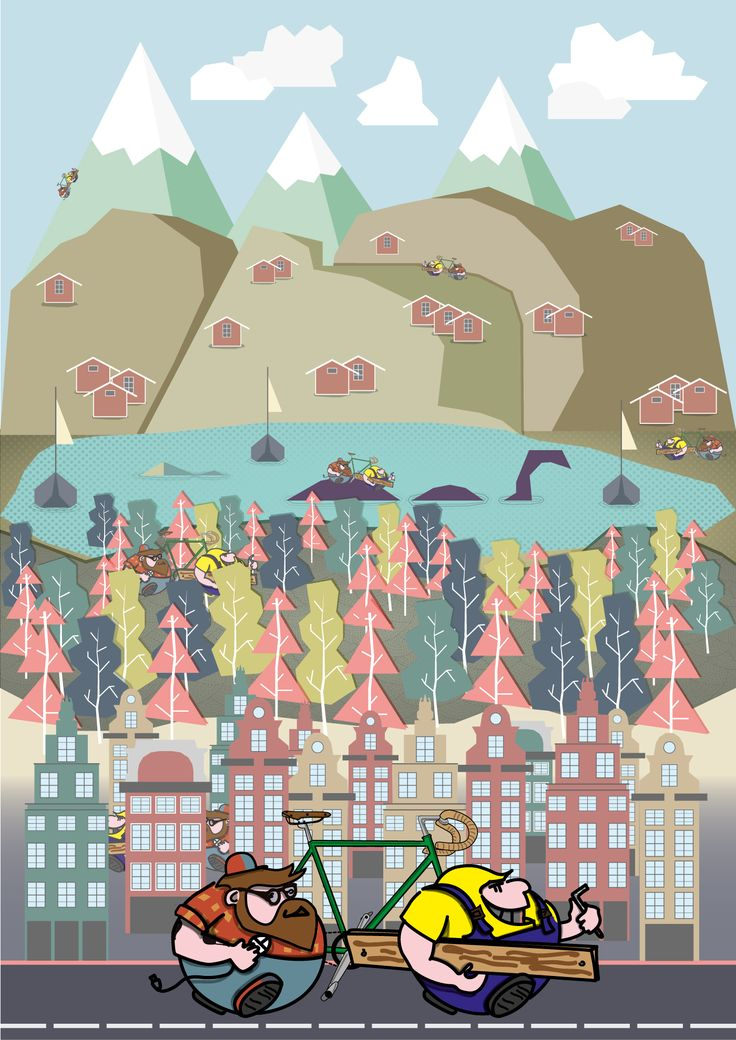 illustration and characters #MAdesigner #illustration #characterdesign #city #graphic #vector #flatdesign #vectordrawing #personalwork #martinaacetti #martinacetti #martina_acetti_designer