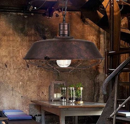 Loft ceiling lamp boutique pendant light industrial chandelier