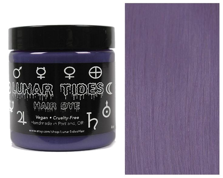 Lunar Tides Hair Dye - Smokey Purple Grey Semi-Permanent Vegan Hair Color (4 fl oz / 118 ml) -- You can find more details by visiting the image link. #hairmake
