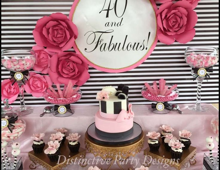 """Fashion / Birthday """"""""40 and Fabulous"""""""" 