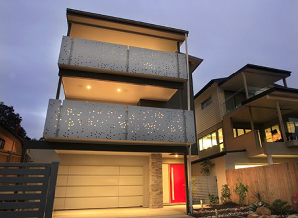 laser cut balustrade