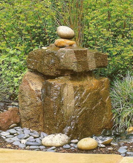 1000+ Ideas About Rock Fountain On Pinterest