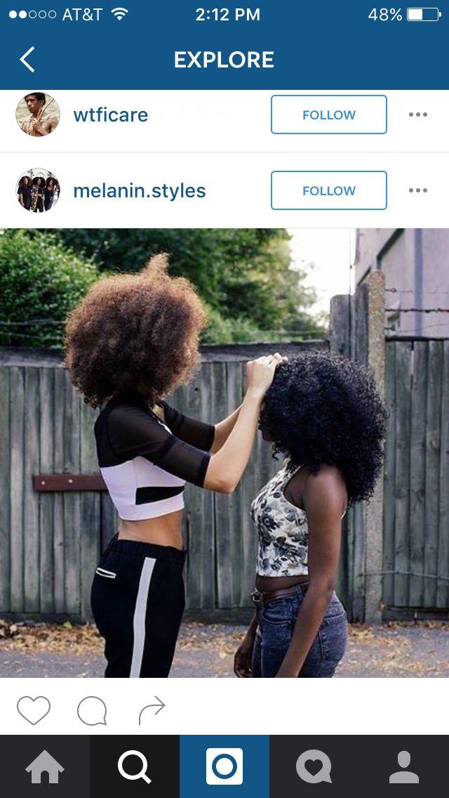 Afro 4b hair