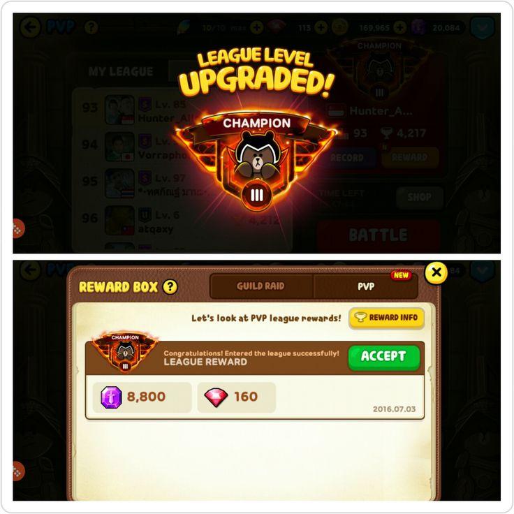 Finally!  #proudtobe #champion #league #pvp #linerangers #achievements #milestoneunlocked #advanced #levelup #consistentfighting