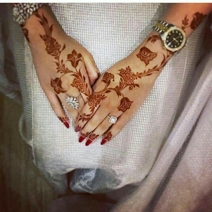Amazing Modern Arabic Roses Henna Mehandi Designs Henna Designs Feet Henna Designs Hand