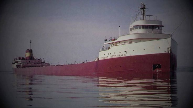 """The Wreck of the Edmund Fitzgerald"" - Gordon Lightfoot (HD w/ Lyrics)"