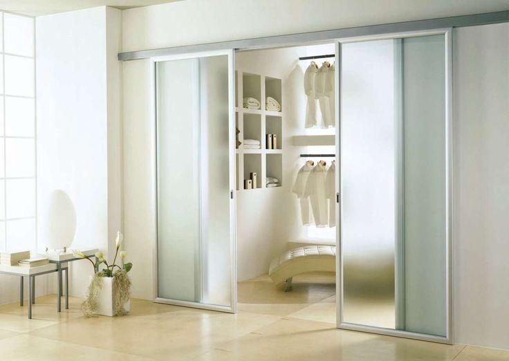 17 meilleures id es propos de double porte coulissante for Porte vitree aluminium