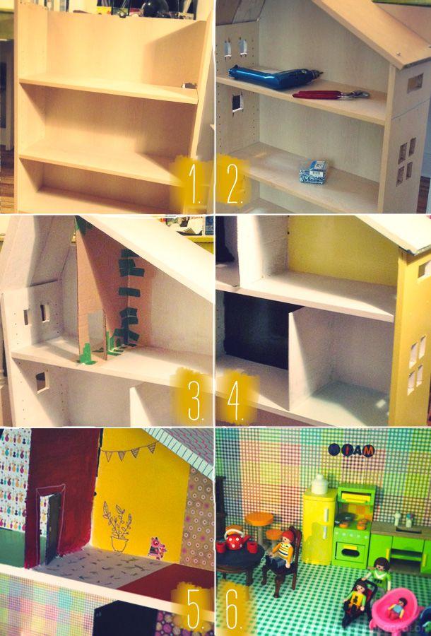 Diy : une maison de poupée                                                                                                                                                      Plus