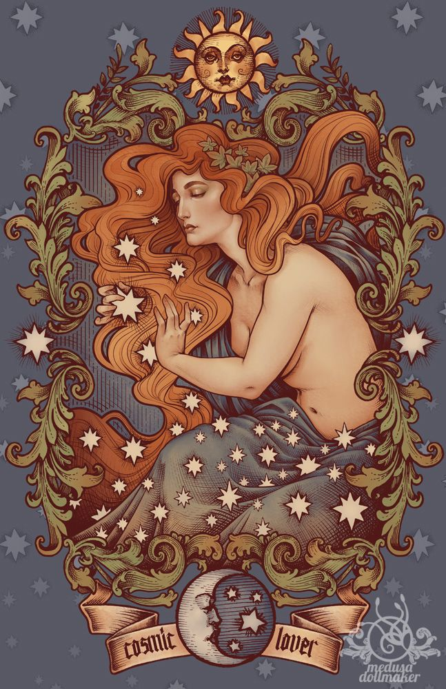 medusadollmaker: COSMIC LOVER color version by Medusa-Dollmaker                                                                                                                                                                                 More