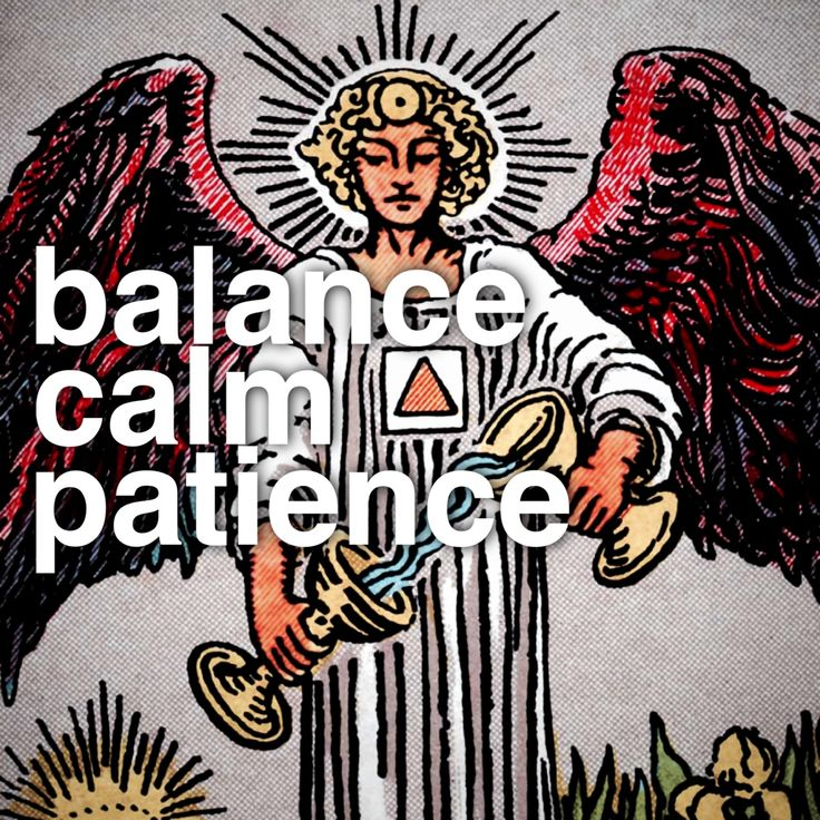 Balance extremes, especially in emotions. Project calmness. Avoid impulsive decisions.