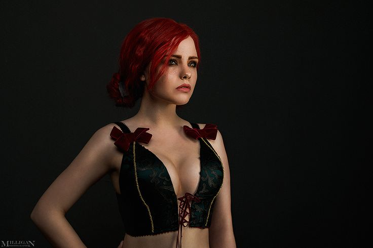 Triss Merigold Lingerie cosplay (by MilliganVick)