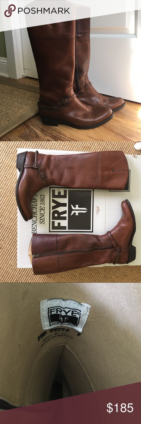 FRYE Melissa Button Boot Gently worn, kept in box FRYE Melissa Button Boots. Frye Shoes Winter & Rain Boots