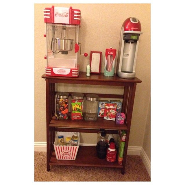 "Theater Room Snack Bar: 1000+ Images About Ways To Make ""candy Concession Stand"