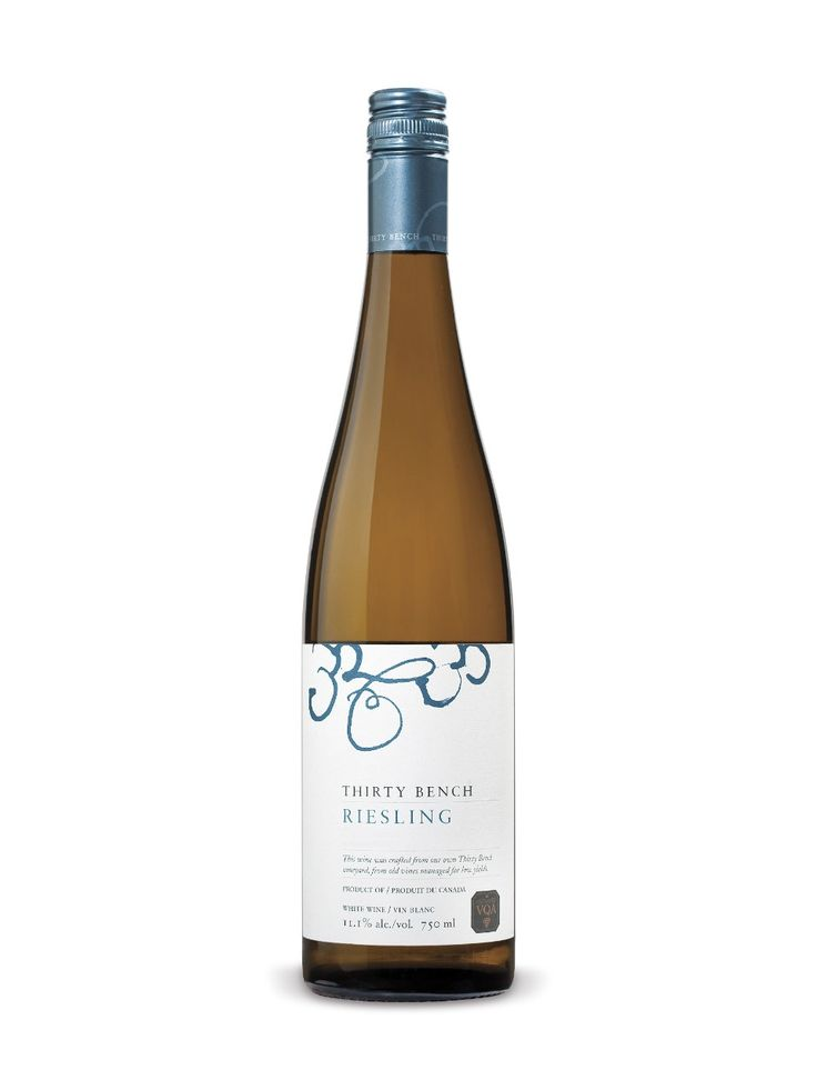 Thirty Bench Riesling - a white wine I actually liked!