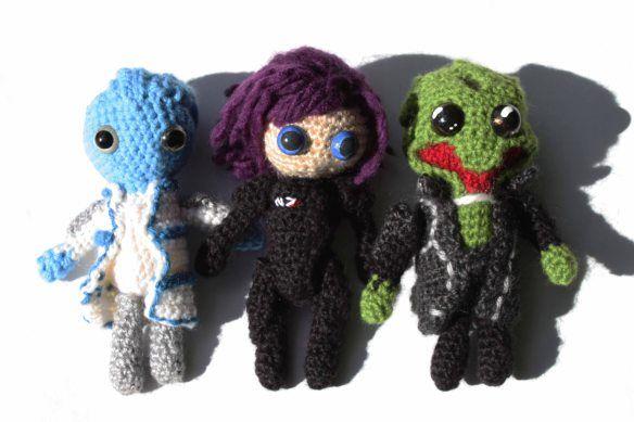 17 Best images about mass effect crochet on Pinterest ...