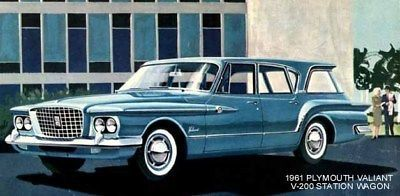 1961 plymouth valiant ~ v-200 station wagon ~ magnet | Plymouth,Station wagon ja eBay