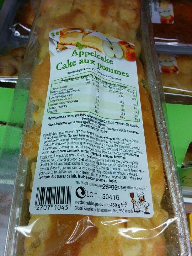 appelcake lactosevrij Aldi