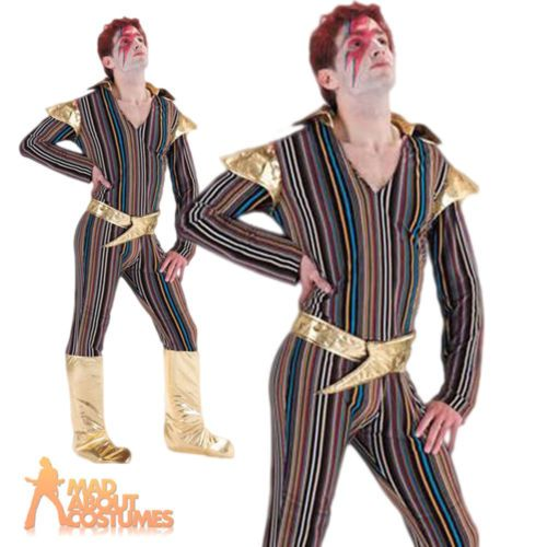 #Adult ziggy stardust costume 70s #david bowie mens pop star #fancy dress outfit,  View more on the LINK: http://www.zeppy.io/product/gb/2/151826772594/