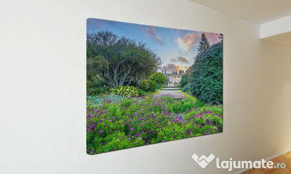 Tablou Canvas Gradina cu flori ST14 (21)- 300 ron