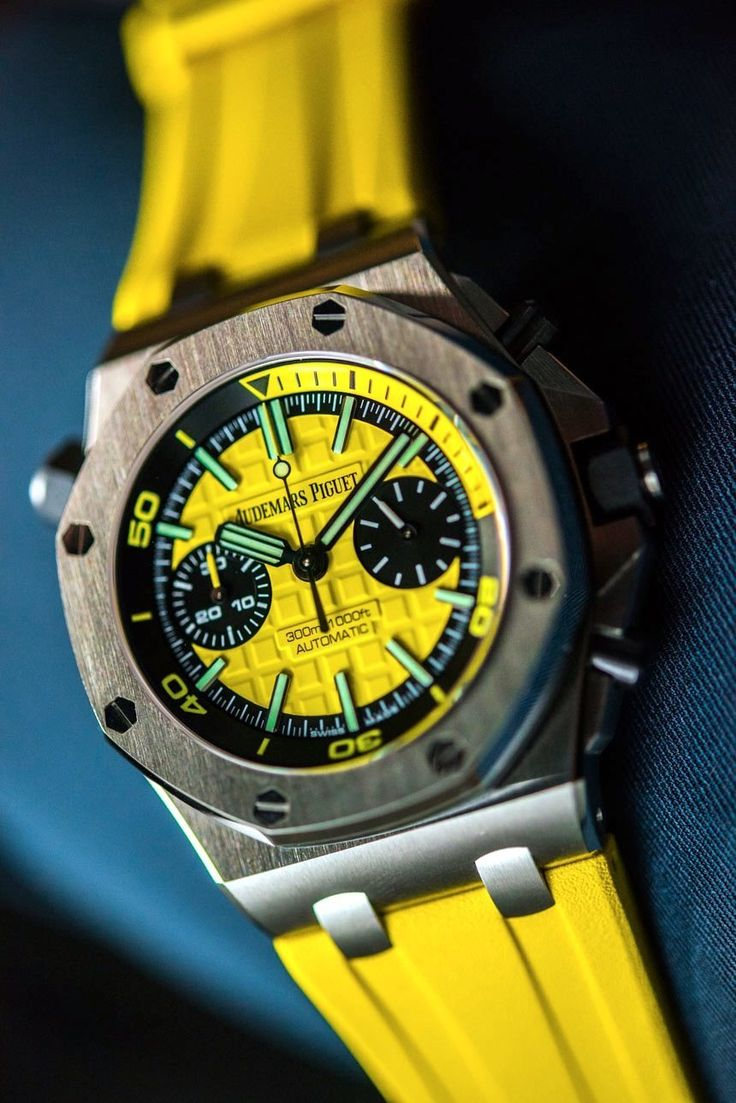Audemars Piguet Royal Oak Offshore Diver Chronograph Watches Hands-On