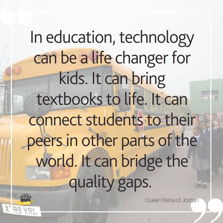 Famous Quotes About Technology In Education: 54 Best The IDEAS Bus Education Quotes Images On Pinterest