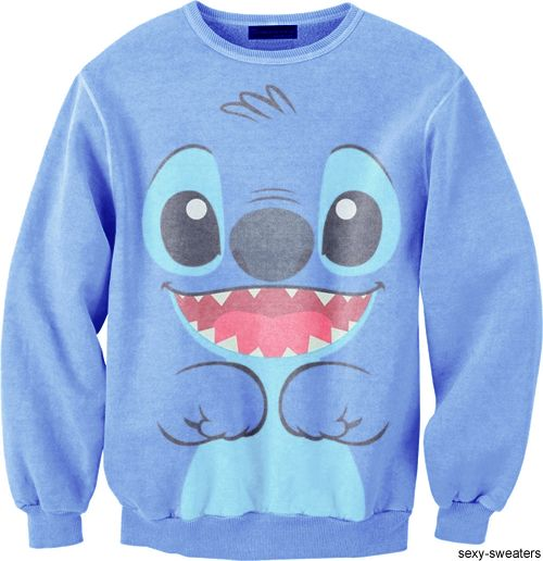 I want this :) Disney Stitch Sweatshirt!