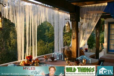 Extra Long (string) Fringe Curtains