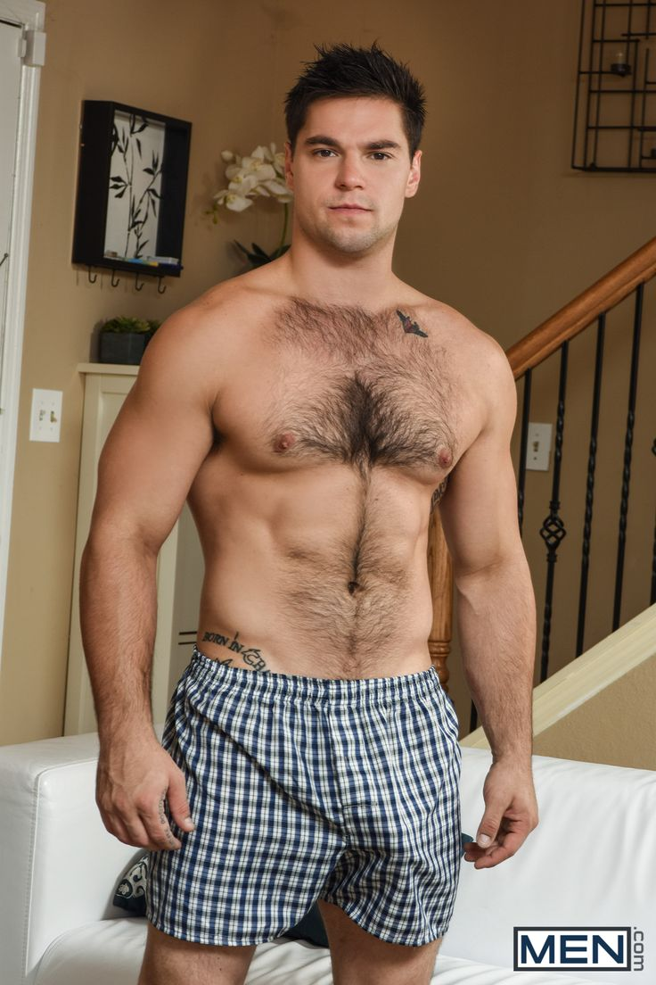 Hairy chest cum charming