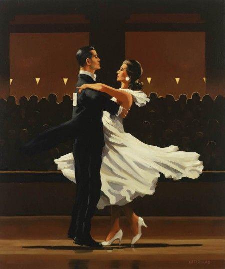 Take this Waltz - Jack Vettriano