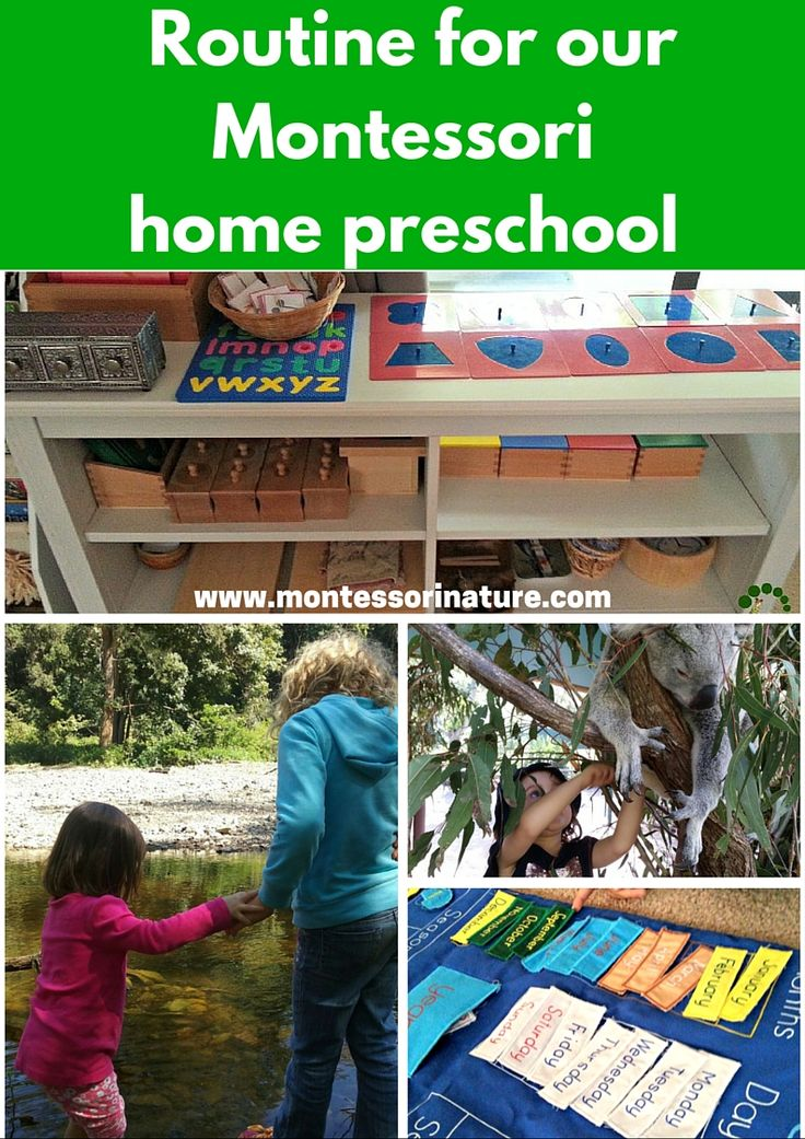Routine For Our Montessori Home Preschool | Montessori Homeschool | Daily Schedule For Homeschooled Preschooler